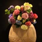 季節の装花  紫陽花